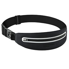 Funda Cinturon Brazo Correr Universal L11 para Nokia 3310 2017 Negro