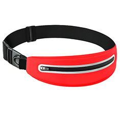 Funda Cinturon Brazo Correr Universal L11 para Nokia 3310 2017 Rojo