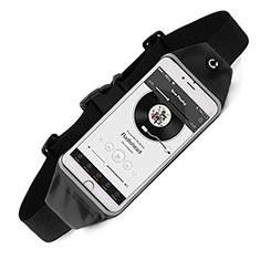 Funda Cinturon Brazo Correr Universal para Sony Xperia XA2 Ultra Negro