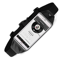 Funda Cinturon Brazo Correr Universal para Huawei P30 Pro Negro