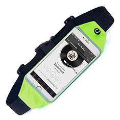 Funda Cinturon Brazo Correr Universal para Xiaomi Poco M3 Verde