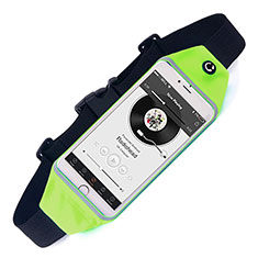 Funda Cinturon Brazo Correr Universal para Sony Xperia XA2 Ultra Verde