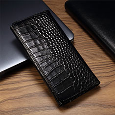 Funda de Cuero Cartera Carcasa T01 para Huawei Mate Xs 5G Negro