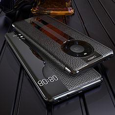 Funda de Cuero Cartera con Soporte Carcasa F05 para Huawei Mate 40 Pro Negro