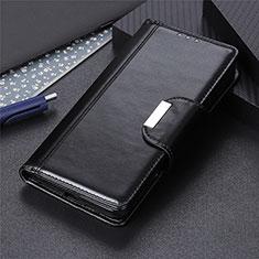 Funda de Cuero Cartera con Soporte Carcasa L01 para Apple iPhone 12 Mini Negro
