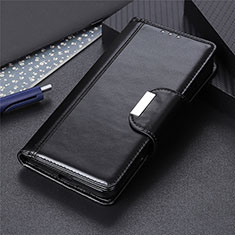 Funda de Cuero Cartera con Soporte Carcasa L01 para Apple iPhone 12 Pro Negro