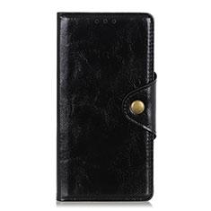 Funda de Cuero Cartera con Soporte Carcasa L01 para Huawei Enjoy 10S Negro
