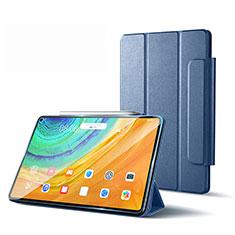 Funda de Cuero Cartera con Soporte Carcasa L01 para Huawei MatePad Pro 5G 10.8 Gris Lavanda