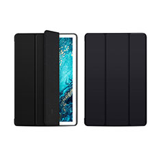 Funda de Cuero Cartera con Soporte Carcasa L01 para Huawei MediaPad M6 10.8 Negro