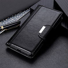 Funda de Cuero Cartera con Soporte Carcasa L01 para Nokia C1 Negro