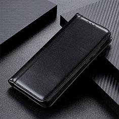 Funda de Cuero Cartera con Soporte Carcasa L01 para OnePlus Nord Negro