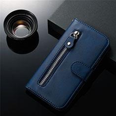 Funda de Cuero Cartera con Soporte Carcasa L01 para Samsung Galaxy S20 Plus 5G Azul