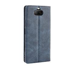 Funda de Cuero Cartera con Soporte Carcasa L01 para Sony Xperia 8 Lite Azul