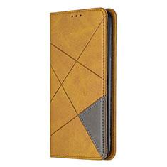 Funda de Cuero Cartera con Soporte Carcasa L01 para Sony Xperia L4 Amarillo