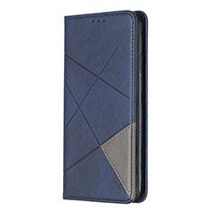 Funda de Cuero Cartera con Soporte Carcasa L01 para Sony Xperia L4 Azul