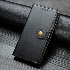 Funda de Cuero Cartera con Soporte Carcasa L01 para Xiaomi Mi Note 10 Lite Negro