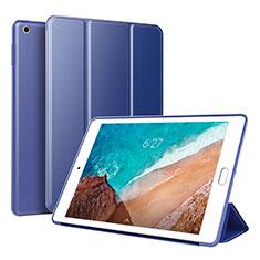 Funda de Cuero Cartera con Soporte Carcasa L01 para Xiaomi Mi Pad 4 Azul