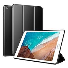 Funda de Cuero Cartera con Soporte Carcasa L01 para Xiaomi Mi Pad 4 Negro