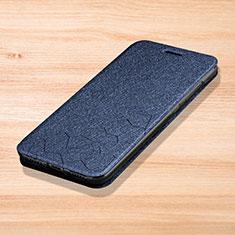 Funda de Cuero Cartera con Soporte Carcasa L01 para Xiaomi Redmi Note 7 Pro Azul