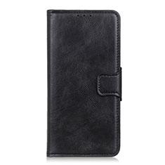 Funda de Cuero Cartera con Soporte Carcasa L02 para Apple iPhone 12 Mini Negro