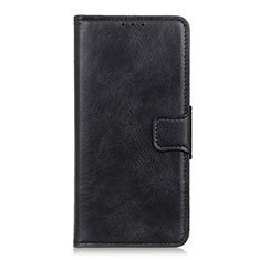 Funda de Cuero Cartera con Soporte Carcasa L02 para Apple iPhone 12 Pro Negro