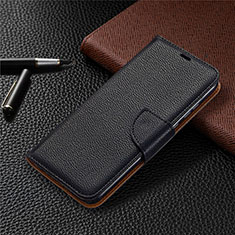 Funda de Cuero Cartera con Soporte Carcasa L02 para Huawei Honor 9A Negro
