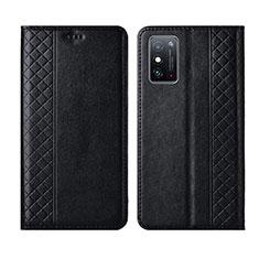 Funda de Cuero Cartera con Soporte Carcasa L02 para Huawei Honor X10 Max 5G Negro