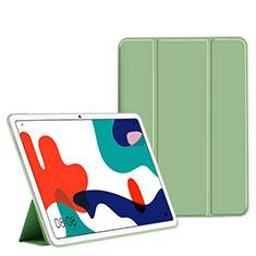 Funda de Cuero Cartera con Soporte Carcasa L02 para Huawei MatePad 10.4 Verde