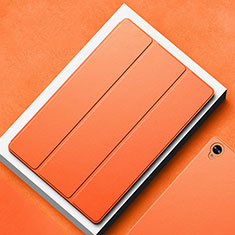 Funda de Cuero Cartera con Soporte Carcasa L02 para Huawei MatePad 10.8 Naranja