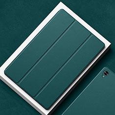 Funda de Cuero Cartera con Soporte Carcasa L02 para Huawei MatePad 10.8 Verde Noche