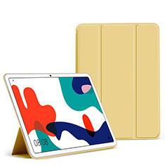 Funda de Cuero Cartera con Soporte Carcasa L02 para Huawei MatePad 5G 10.4 Amarillo