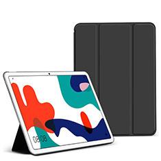 Funda de Cuero Cartera con Soporte Carcasa L02 para Huawei MatePad 5G 10.4 Negro