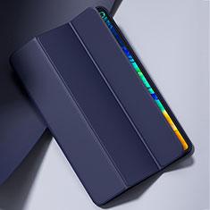 Funda de Cuero Cartera con Soporte Carcasa L02 para Huawei MatePad Pro 5G 10.8 Azul