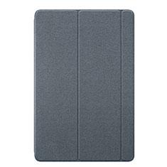 Funda de Cuero Cartera con Soporte Carcasa L02 para Huawei MediaPad M6 10.8 Gris