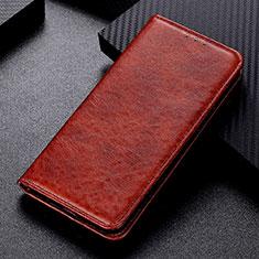 Funda de Cuero Cartera con Soporte Carcasa L02 para Nokia 5.3 Marron