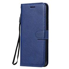 Funda de Cuero Cartera con Soporte Carcasa L02 para Nokia 7.2 Azul