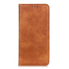 Funda de Cuero Cartera con Soporte Carcasa L02 para Samsung Galaxy M01 Core Naranja