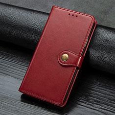 Funda de Cuero Cartera con Soporte Carcasa L02 para Sony Xperia L4 Rojo