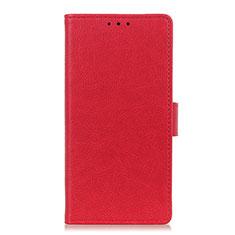 Funda de Cuero Cartera con Soporte Carcasa L03 para Apple iPhone 12 Pro Max Rojo