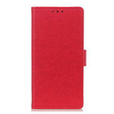 Funda de Cuero Cartera con Soporte Carcasa L03 para Apple iPhone 12 Pro Rojo