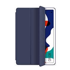 Funda de Cuero Cartera con Soporte Carcasa L03 para Huawei MatePad 10.4 Azul