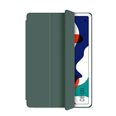 Funda de Cuero Cartera con Soporte Carcasa L03 para Huawei MatePad 10.4 Verde