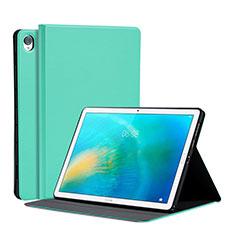 Funda de Cuero Cartera con Soporte Carcasa L03 para Huawei MatePad 10.8 Menta Verde