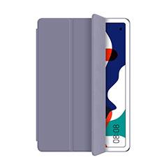 Funda de Cuero Cartera con Soporte Carcasa L03 para Huawei MatePad 5G 10.4 Gris