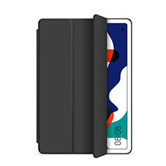 Funda de Cuero Cartera con Soporte Carcasa L03 para Huawei MatePad 5G 10.4 Negro