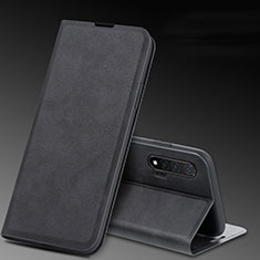 Funda de Cuero Cartera con Soporte Carcasa L03 para Huawei Nova 6 5G Negro