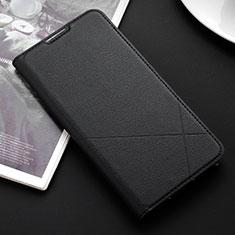 Funda de Cuero Cartera con Soporte Carcasa L03 para Huawei P Smart (2019) Negro