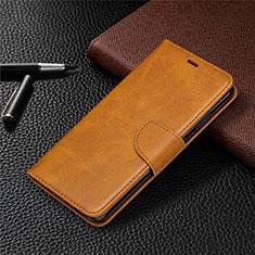 Funda de Cuero Cartera con Soporte Carcasa L03 para Nokia 5.3 Naranja