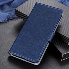 Funda de Cuero Cartera con Soporte Carcasa L03 para Realme 5 Pro Azul