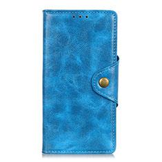 Funda de Cuero Cartera con Soporte Carcasa L03 para Samsung Galaxy M31 Prime Edition Azul Cielo